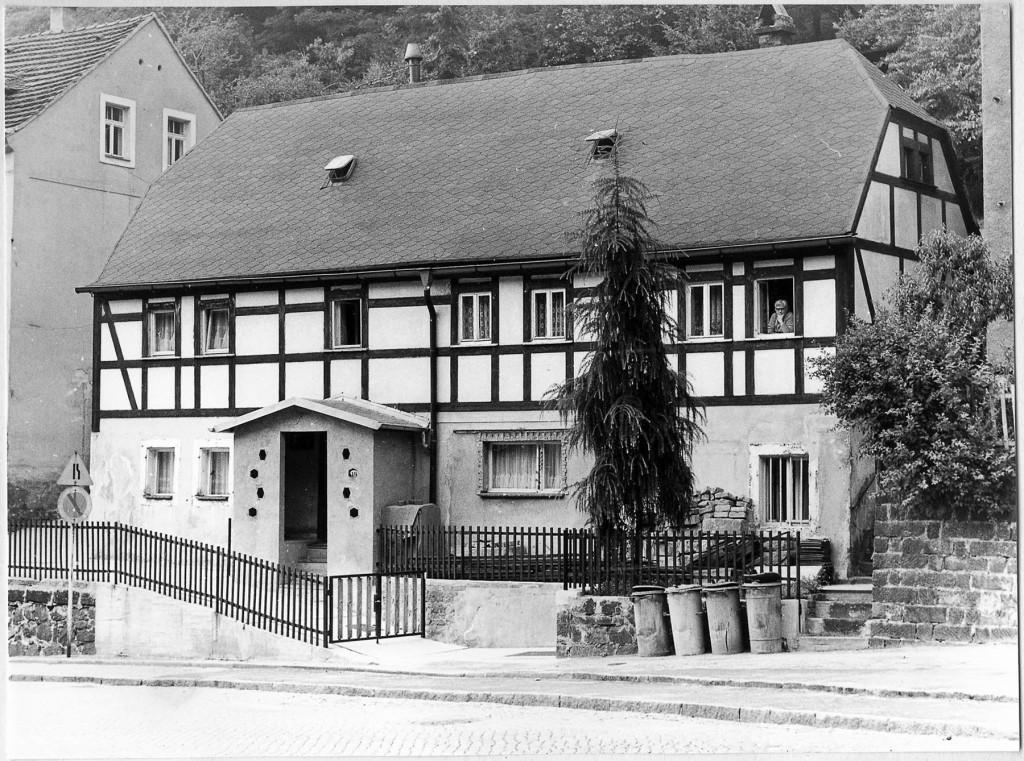 Im Sommer 1823 verbrachte Richard Wagner als Zehnjähriger mit seinen Eltern einige Wochen im Haus Grundstraße 49.  Foto: Wolfgang Nützenadel