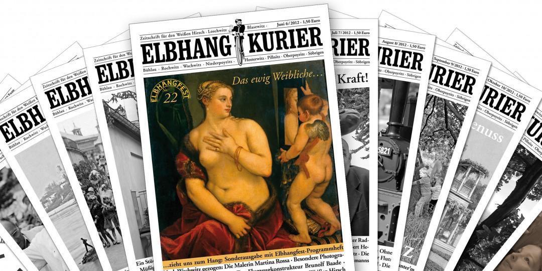Der Elbhang-Kurier im bequemen Jahres-Abonnement
