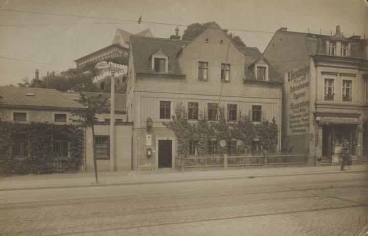 Grundstraße 3, um 1935. Foto: unbekannter Fotograf (Sammlung Götz)