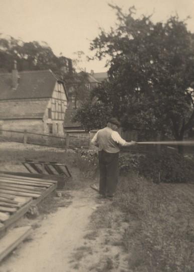 Der Gärtnermeister Ernst Arthur Gruhl wurde am 10. Oktober 1868 in Oschatz geboren und starb am 9. Dezember 1942. Foto: Elbhang-Photo-Galerie (Edith Tackmann)