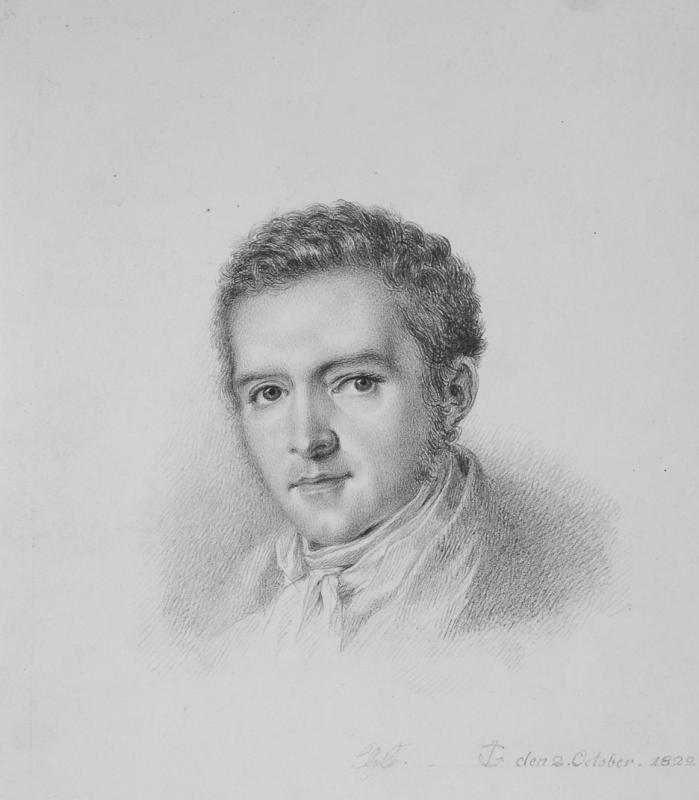 Carl Gustav Carus (1789 – 1869) Selbstbildnis, 1822. Abbildung: Städtische Galerie Dresden, Foto: Franz Zadnicek