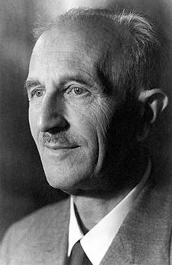 Otto Kotzsch, photographiert von Hildegard Jäckel, 1947