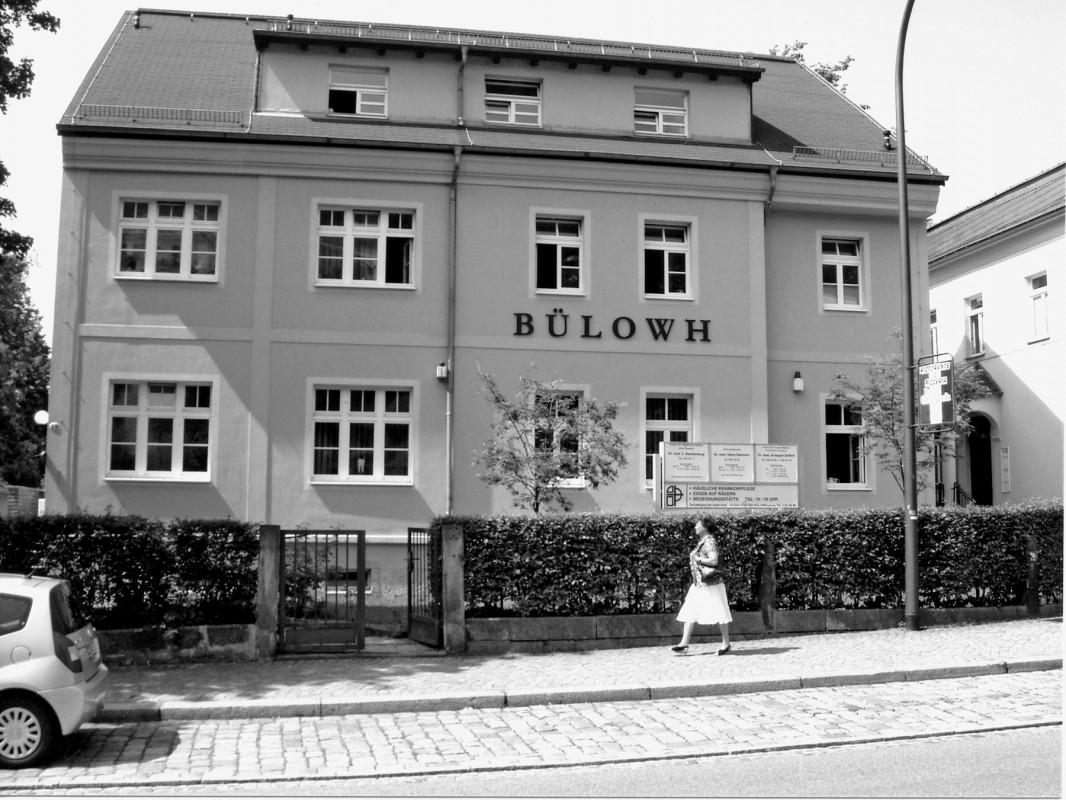 Pillnitzer Landstraße 12 heute: Sozialstation. Foto: Sammlung A. Perückhauer