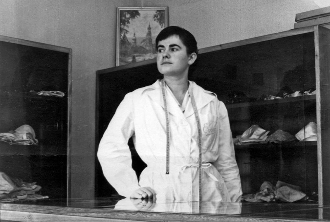 Ruth Vogel, Mutter des heutigen Geschäftsführers Tino Vogel, Ende der 50er Jahre. Foto: Archiv Tino Vogel
