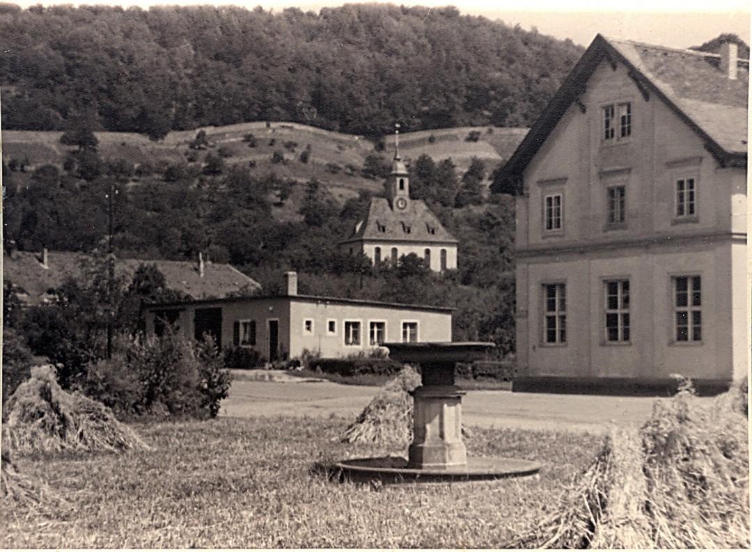 Grundstück Brode in den 1950er Jahren. Foto: Sammlung Dr. Kunath