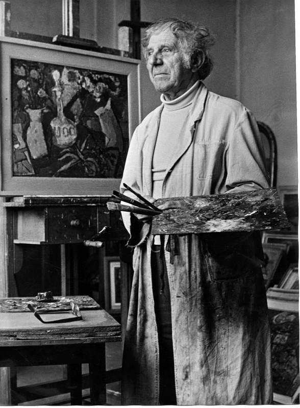 Hans Jüchser, 1976. Foto: Hermann Koenigs