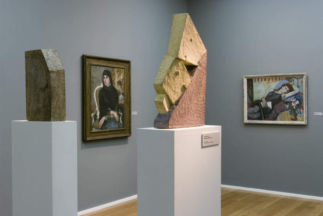 Blick in die Ausstellung. Foto: Städtische Galerie Dresden