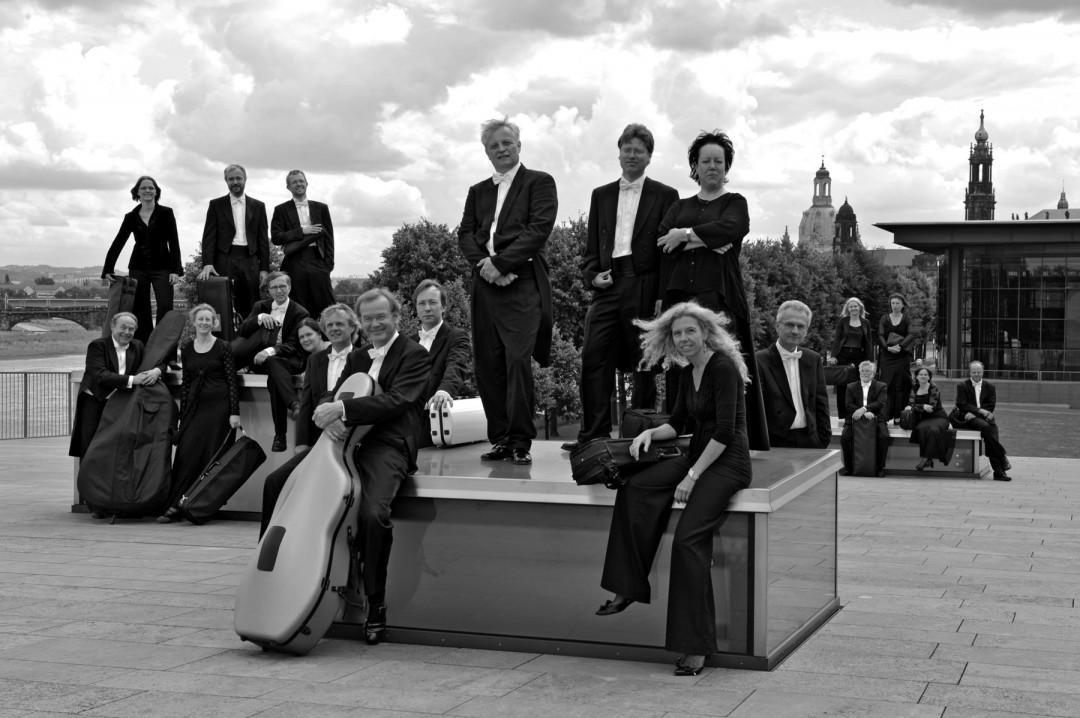 Geplante Festeröffnung: Open-Air-Programm am Lingnerschloss mit den Dresdner Kapellsolisten. Foto: PR