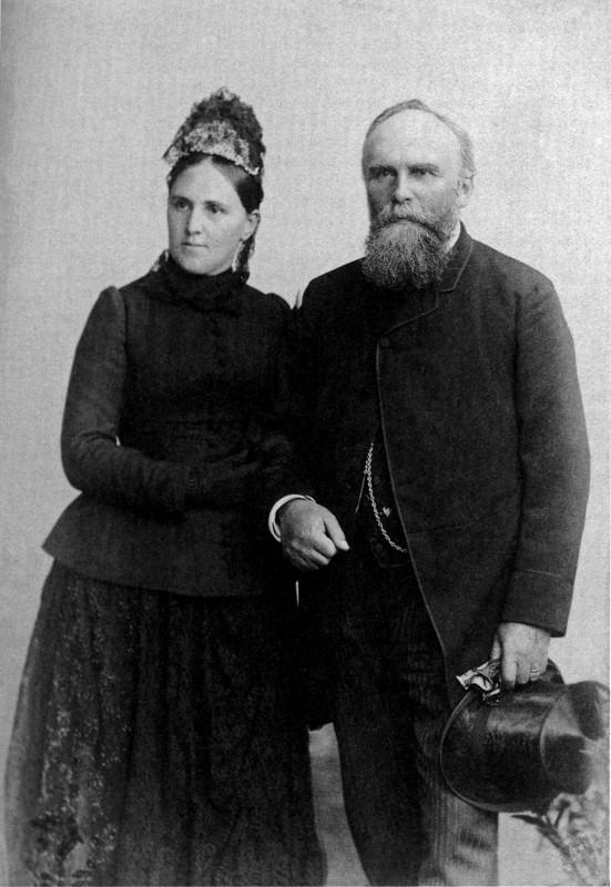 """Hermine Schleicher und Eugen Langen, um 1880.  Foto: Buch """"Kölner Wirtschaftbürger im Deutschen Reich"""""""