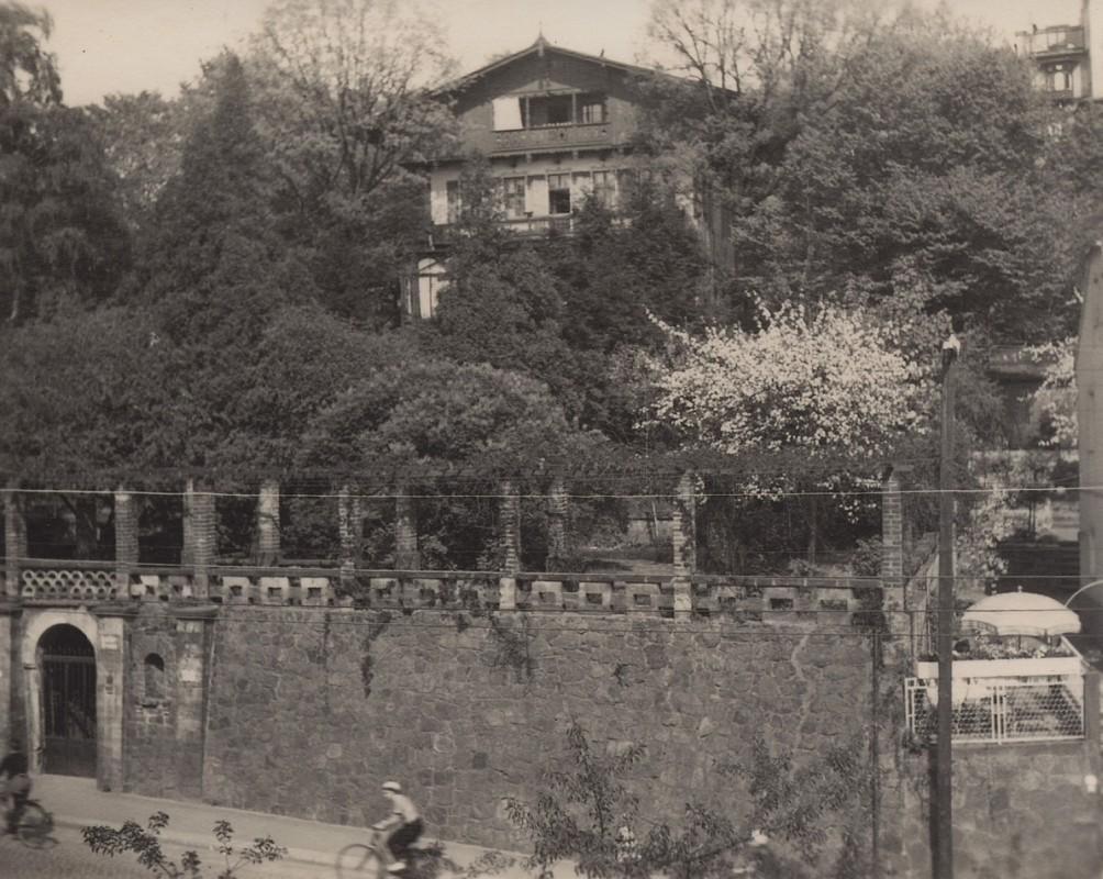 Das Wohnhaus der Familie Martens/von Koppenfels, um 1940. Foto: Georg Gruel