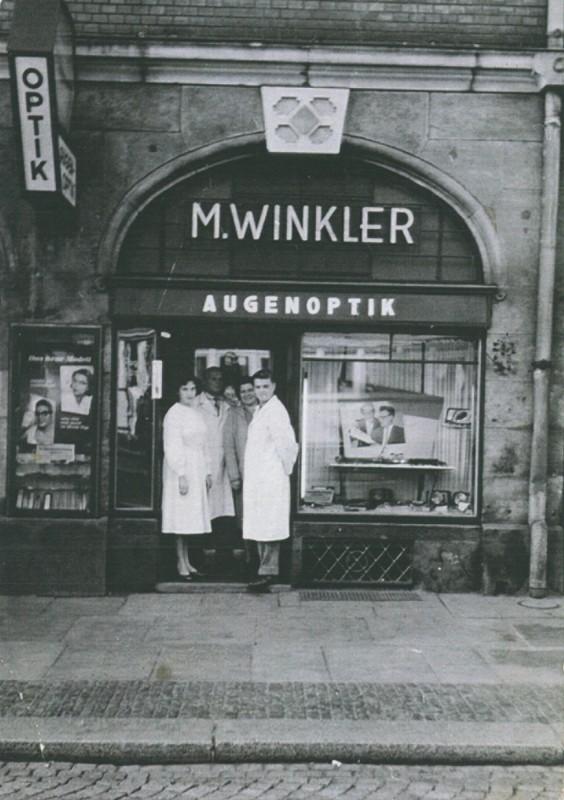 Martin Winkler und seine Mitarbeiter.  Foto: Archiv Ortsverein Loschwitz-Wachwitz e. V.