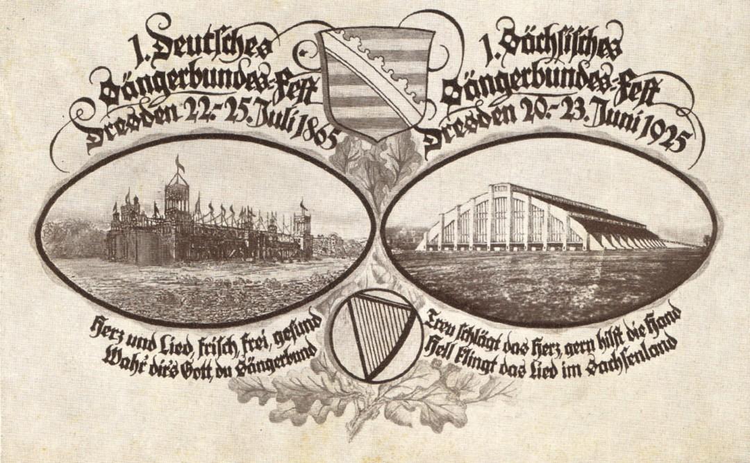 1. Deutsches Sängerbund-Fest Sammlung M. Griebel