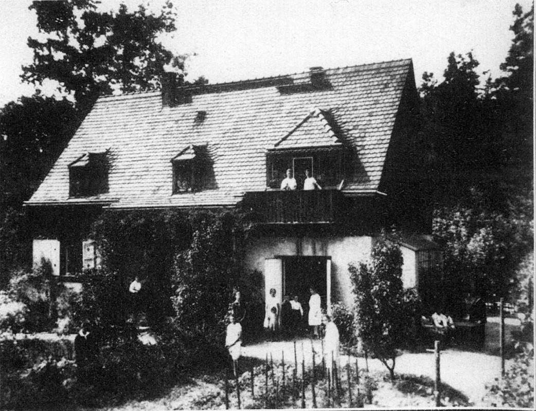 Das ehemalige Erholungsheim des Ehrlich'schen Gestifts an der Hegereiterstraße 20.