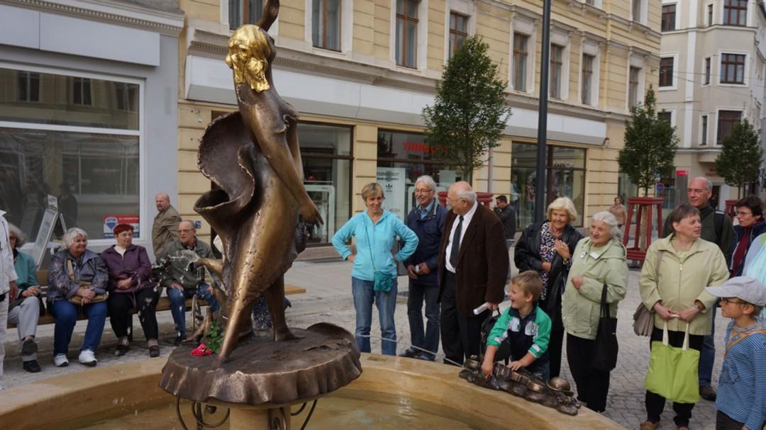 Eindruck vom Brunnenfest Foto: Ernst Hirsch