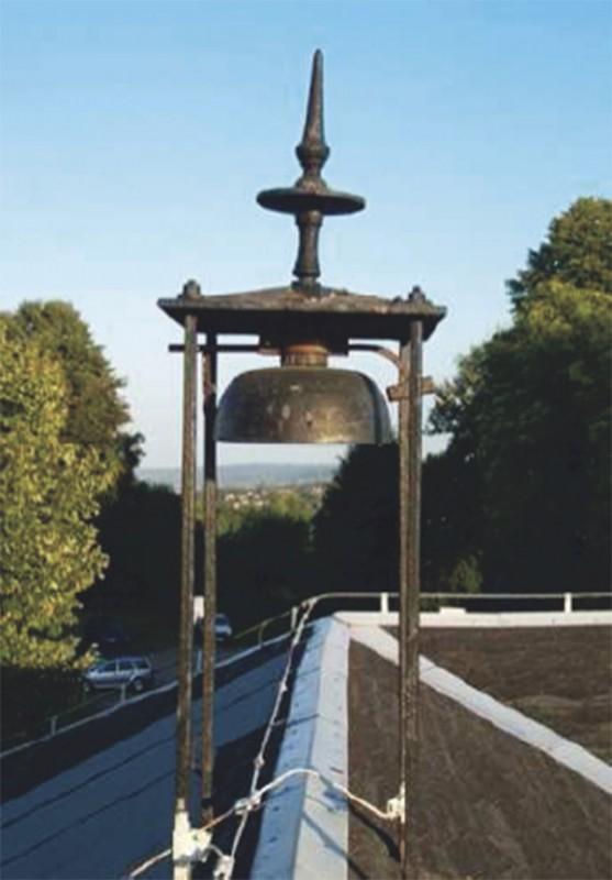 Glockentürmchen vor der Renovierung. Foto: Rolf Göbel
