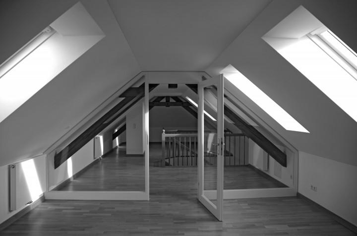Maisonettewohnung im Seitenflügel. Foto: Jürgen Frohse