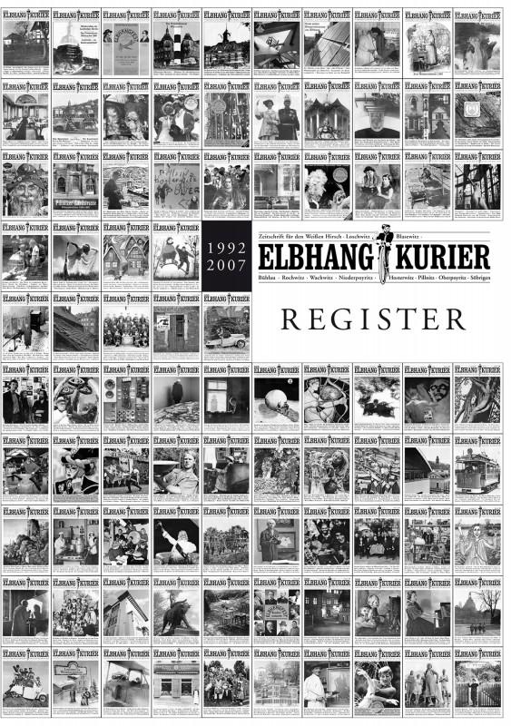 Das Elbhang-Kurier-Register 1992 – 2007