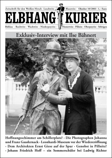 Ausgabe Oktober 2003