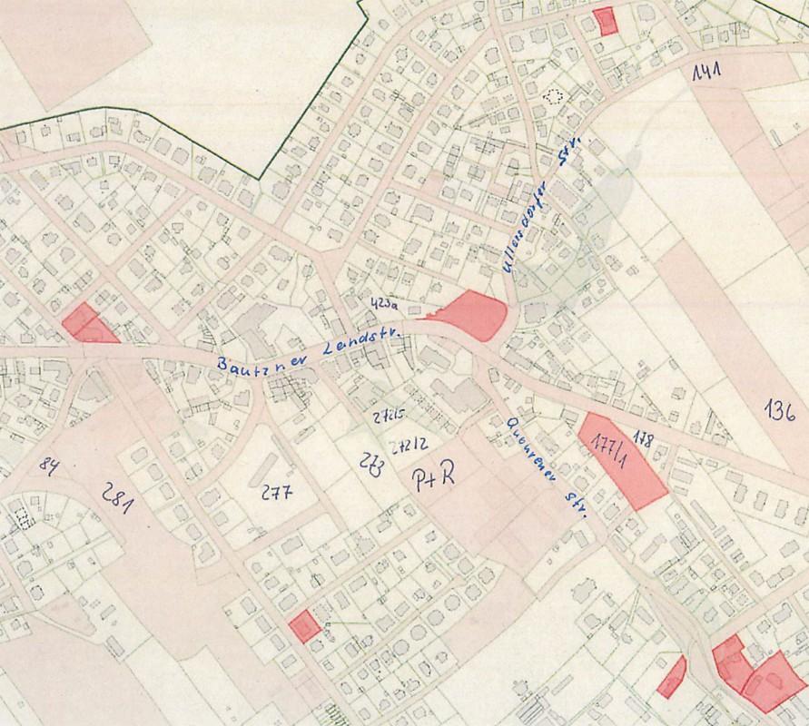 Die von den Ortsbeiratsmitgliedern vorgeschlagenen Standorte