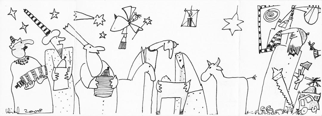 Zeichnung: Klaus Wiechmann