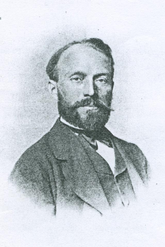 Karl Friedrich Tauscher, 1859 – 1884 als Blasewitzer Gemeindevorstand im Amt. Reproduktion: Sammlung K.-D. Prskawetz