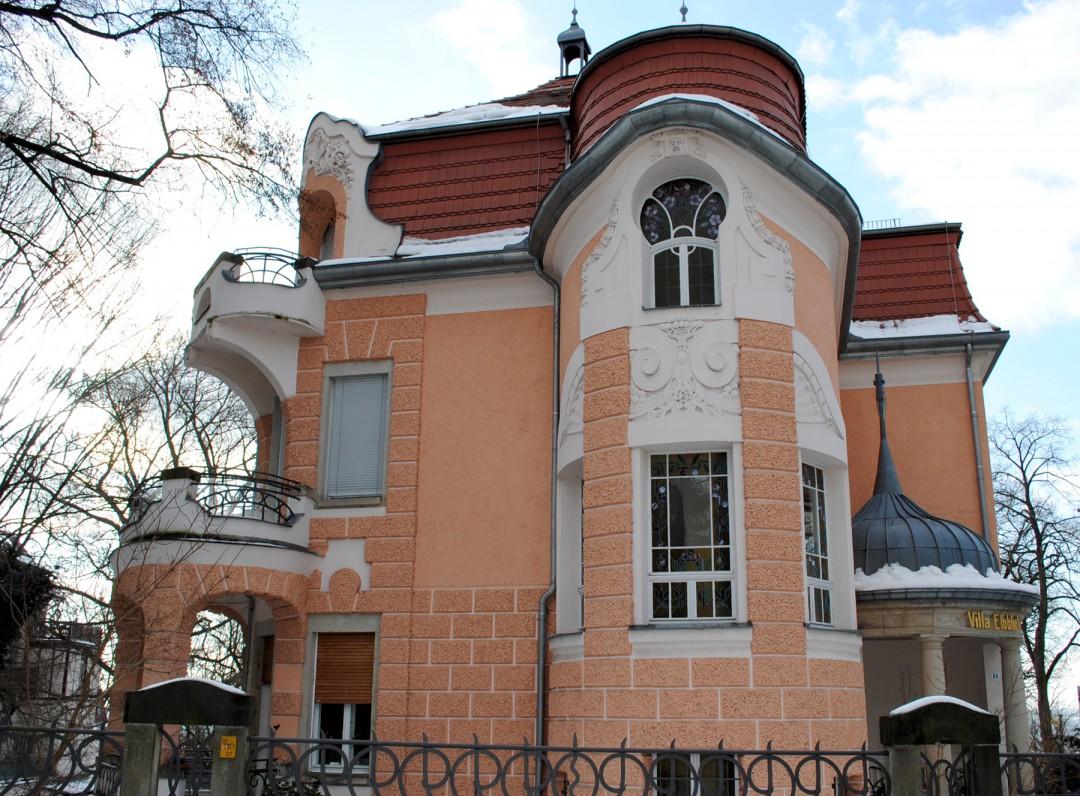 """""""Italienisches Haus"""" Foto: Albrecht Hoch"""