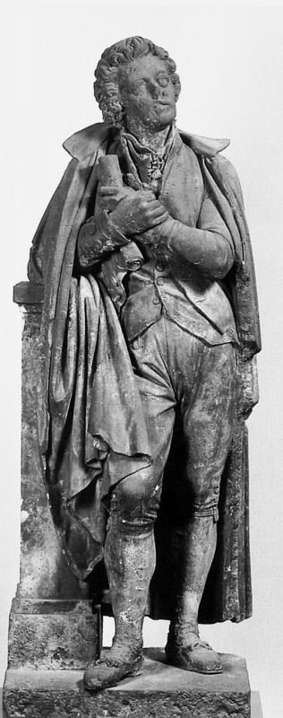 Die von Ernst Rietschel geschaffene Mozart-Statue schmückte einst das Erste Dresdner Hoftheater.  Foto: Semperoper-Journal 6/2005