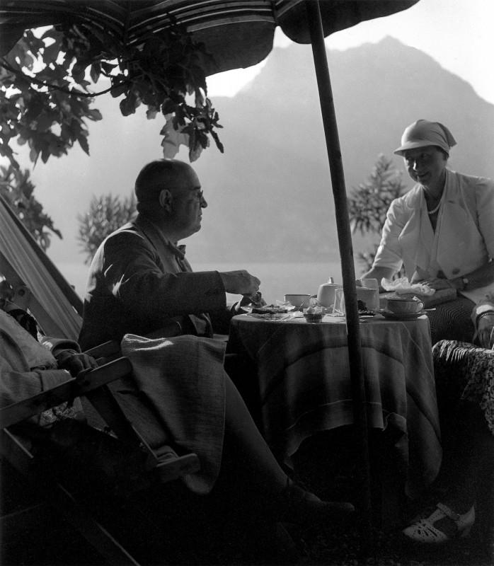 Urlaub für Cora und Ludwig Munzinger, um 1930. Foto: Sammlung Munzinger