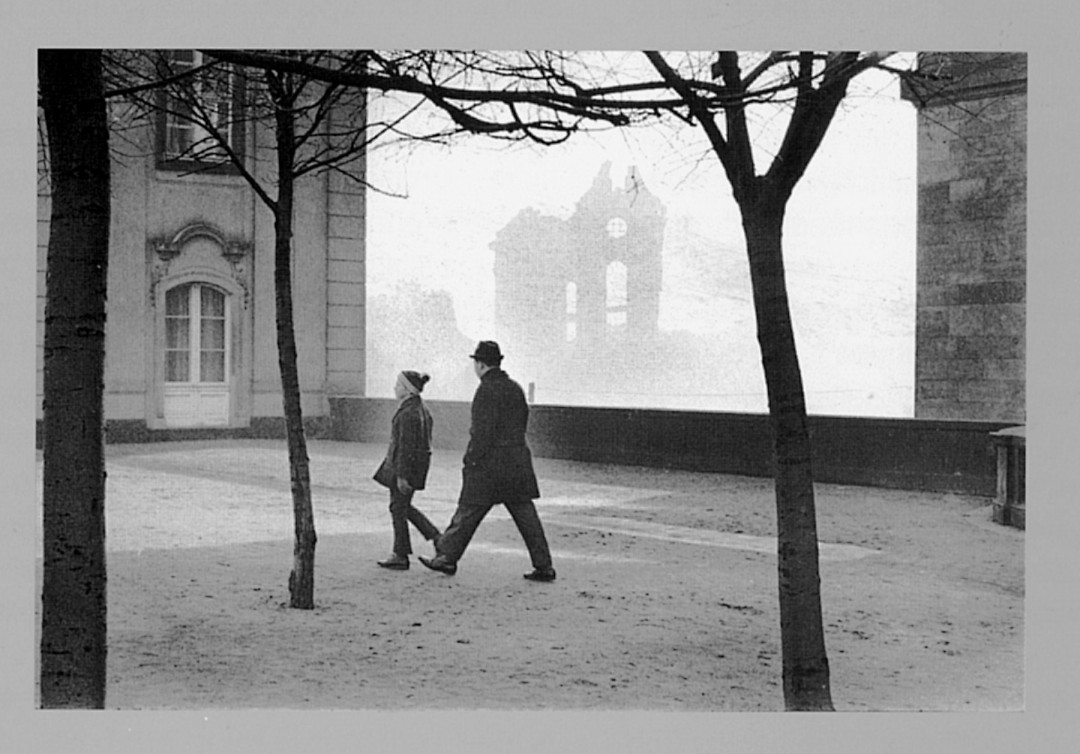 Dresden, um 1976. Foto: Evelyn Richter (Repro Katalog)