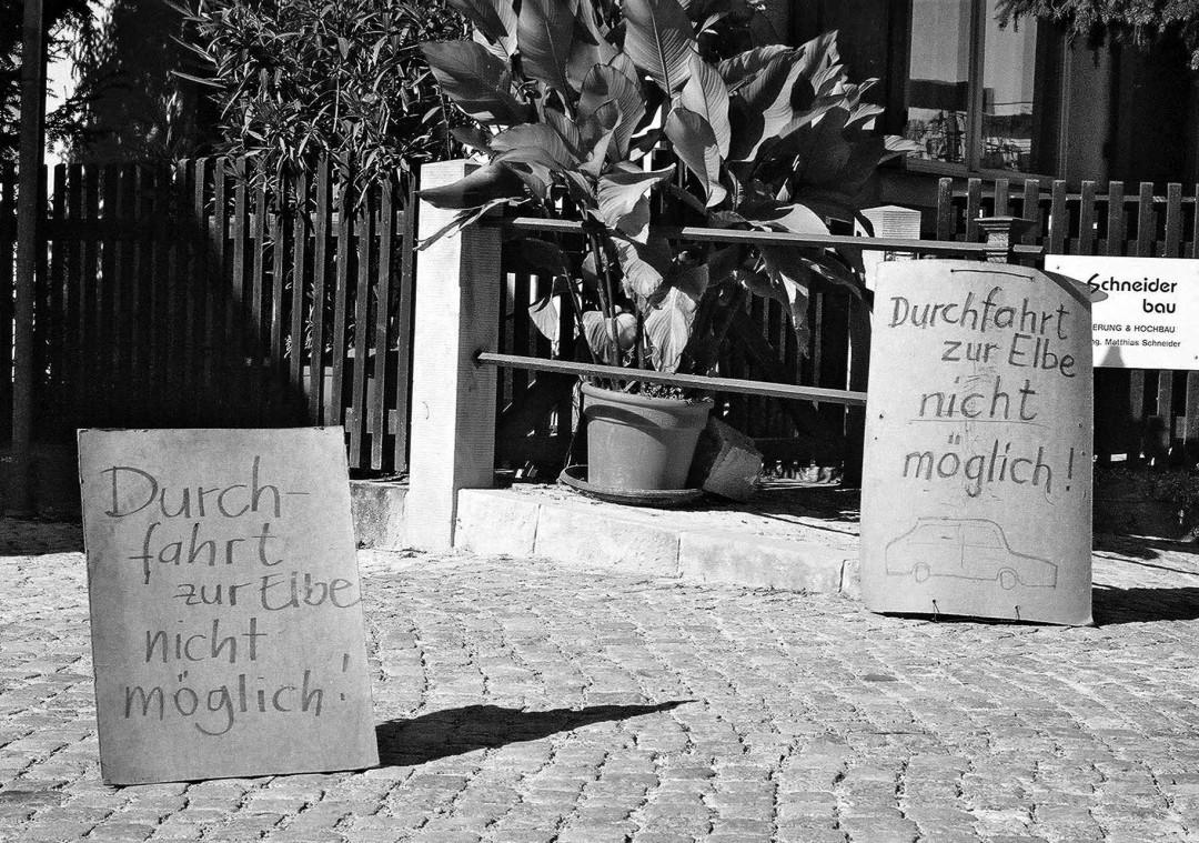 Anwohner greifen wieder zur Selbsthilfe. Foto: Jürgen Frohse