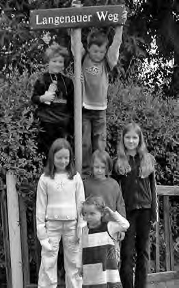 Eine natürlich-fröhliche Kindergeneration vom Langenauer Weg. Foto: Archiv Neupert
