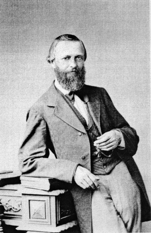 Eduard Cichorius.  Foto: Sächsische Landesbibliothek – Staats- und Universitätsbibliothek Dresden