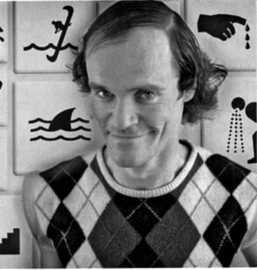Olaf Schubert im unentbehrlichen Pullover. Foto: Kulturmagazin triangel, 9/2007