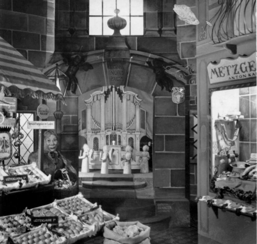 Schaufenster Café Toscana Foto: Archiv