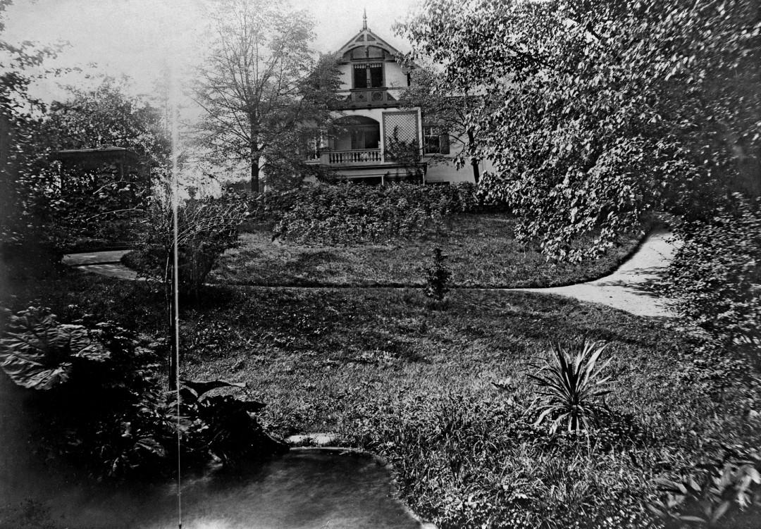 Knoop-Anwesen Schillerstraße 31. Foto: Archiv Ute Häse
