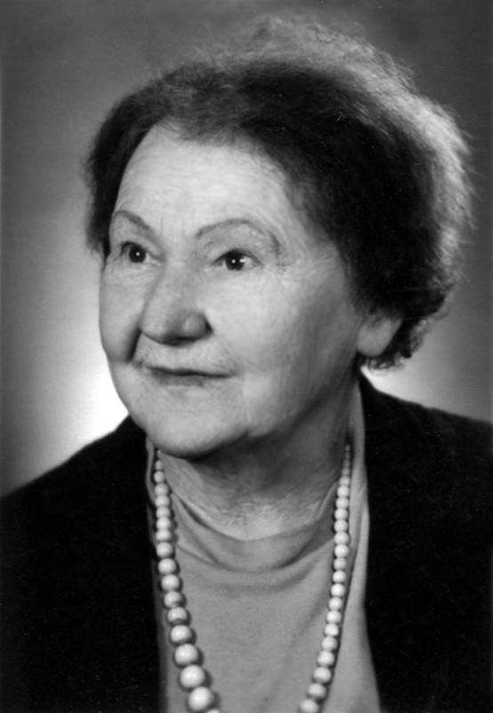 Erna Olga Fruhtrunk, wie viele sie noch kennen. Foto: Archiv Matz Griebel