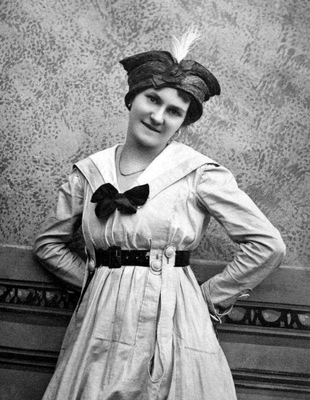 In ihrer Jugend war sie Schauspielerin. Foto: Archiv Matz Griebel