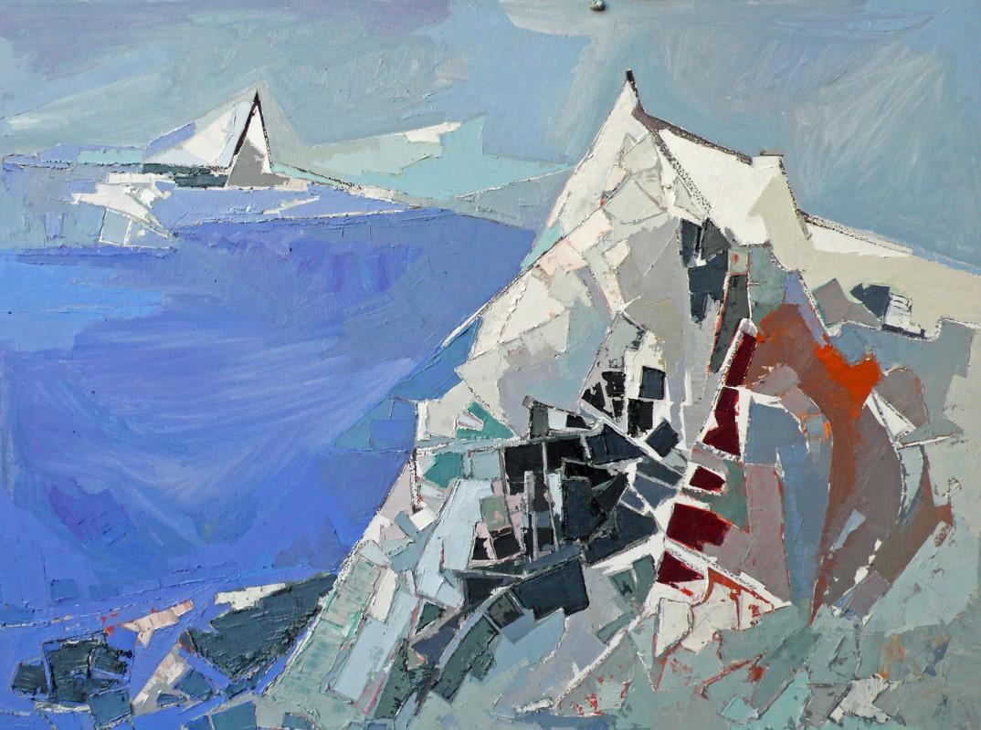 """""""Gipfel vorm See"""" – von Ingo Kraft"""