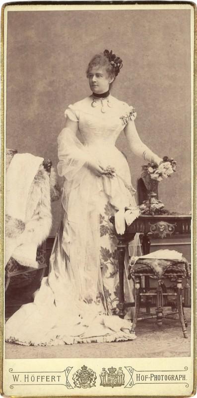 Pauline Ulrich Foto: W. Höffert (Hof-Photograph) / Familienarchiv der Nachkommen von Pauline Ulrich