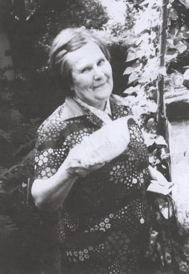 Frau Hilde Krause Ende der 1960er Jahre