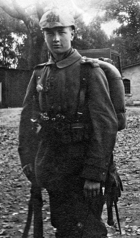 Reinhold Wildenhayn am 11. Oktober 1914.
