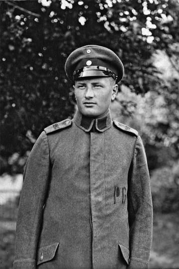 Reinhold Wildenhayn in Le Mans Juni 1918. Foto: Archiv Griesbach