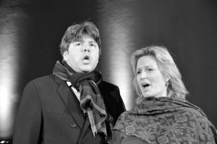 Anton Saris und Camilla Nylund Foto: Detlef Streitenberger