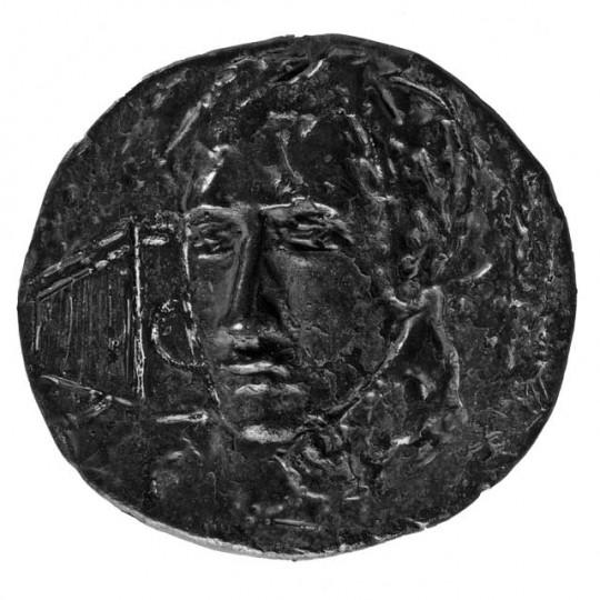 Porträt Luc Saalfeld (Medaille von Christine Heitmann)