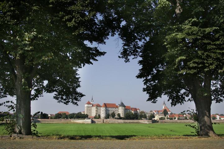 Torgau, Schloss Hartenfels, Ansicht von der Elbseite Foto: Wolfgang Sens, zur Verfügung gestellt von den Staatlichen Kunstsammlungen Dresden