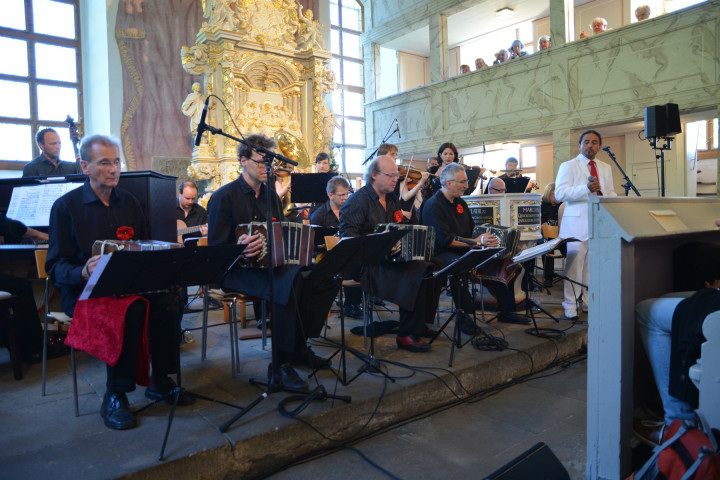 Alle Facetten des Tango mit opulentem Klang in der Weinbergkirche Pillnitz Foto: Holger Friebel