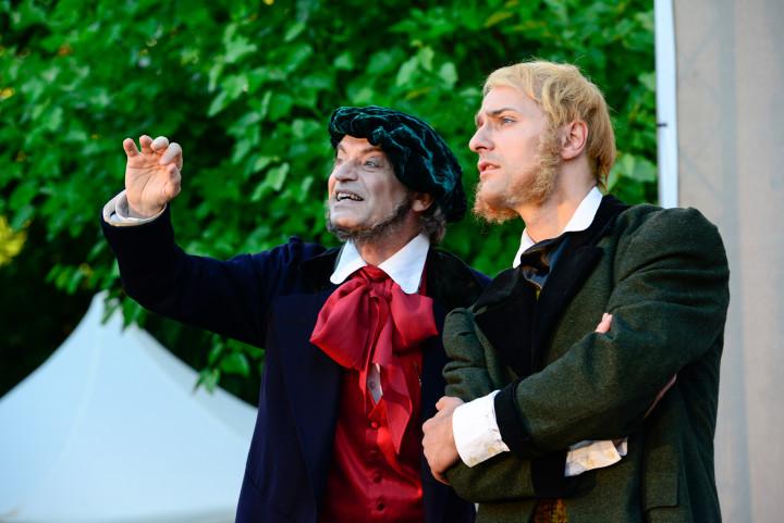 Robby Langer und Johannes Gärtner. Foto Matthias Creutziger
