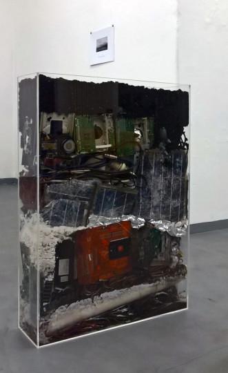 Ansicht Installation OUR AGE, Roswitha Maul, 2017  Foto Alte Feuerwache Loschwitz